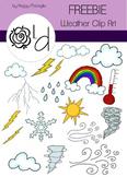 Weather Clip Art Freebie