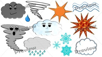Weather Clip Art Pack