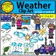 Weather Clip Art  Personal and Commercial Use