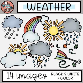 Weather Clip Art - SpeakEazy Clips