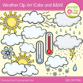 Weather Clip Art - Weather Clipart