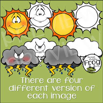 Weather Clip Art (c) Shaunna Page 2016
