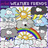 Weather Clip Art- Smiley Face Weather Clipart {jen hart Clip Art}
