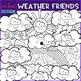 Weather Clip Art- Smiley Face Weather Clipart {jen hart Clip Art}