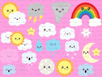 Clipart: Weather