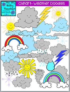 Weather Clipart Bundle