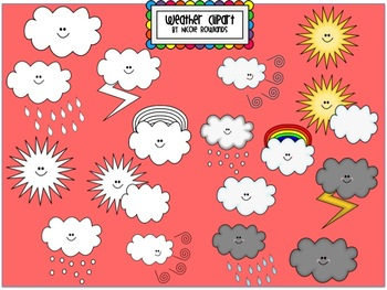 Weather Clipart - Commercial & Personal Use
