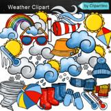 Weather Clipart Bundle