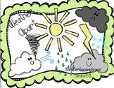 Weather Clipart -MadeForSecondGrade