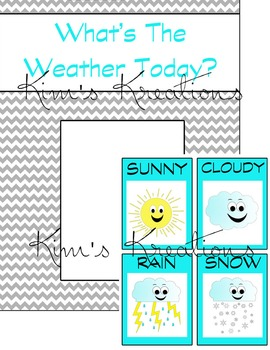 Weather Clipart and Daily Forecast Activity