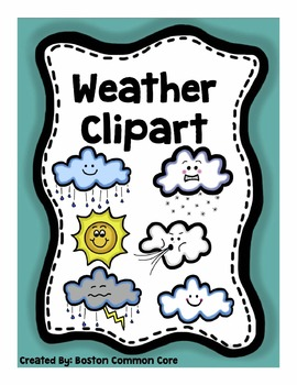 Weather Clipart and Posters Package