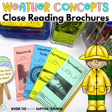 Weather Close Reading Passages with Questions