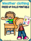 Weather Clothing Dress me Dolls
