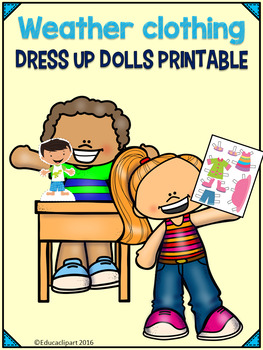 Weather Clothing Dress me Dolls