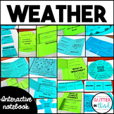 Weather, Climate, Storms, Clouds, & Meteorology Interactive Notebook bundle