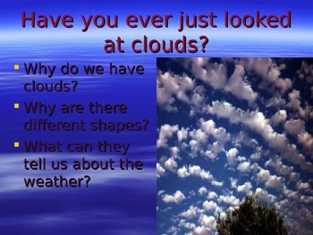 Weather, Clouds, & Precipitation Power Point