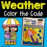 Weather Color by Code | Vowels | Long Vowels | Short Vowels | Vowel Pairs