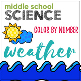 Weather Color by Number