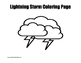 Weather Coloring Page Bundle