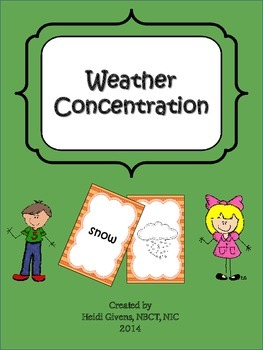 Weather Concentration