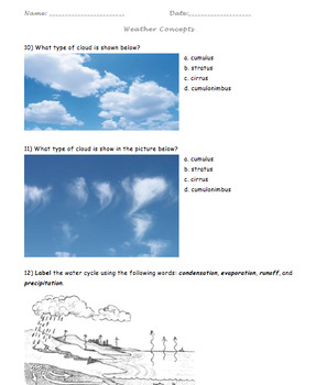 Weather Concepts