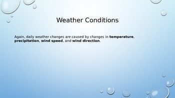 Weather Conditions PowerPoint Presentation