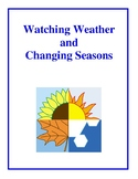 Watching Weather and Changing Seasons, Activities and Worksheets