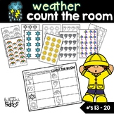 Weather Count the Room for Numbers 13-20