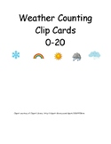 Weather Counting Clip Cards 0-20