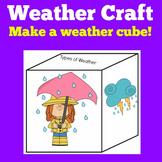 Weather Craft | Preschool Kindergarten 1st 2nd Grade | Wea