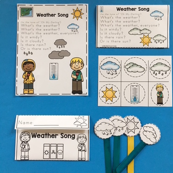 """Weather Craft and Song """"Make and Take"""""""