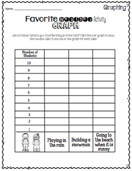 Weather Craftivities & Printables