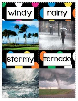 Weather Craftivities & Printables