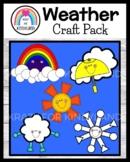 Weather and Season Craft Activities: Rainbow, Rain, Cloud, Sun, Snow