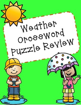 Weather Crossword Puzzle Review