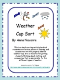 Weather Cup Sort
