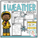 "Weather Daily Worksheets ""No Prep"""