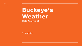 Weather Data Analysis