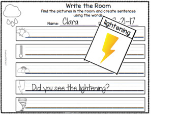 Weather Differentiated Activities and Worksheets