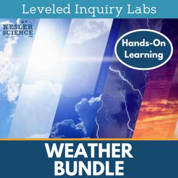 Weather Differentiated Inquiry Labs Bundle