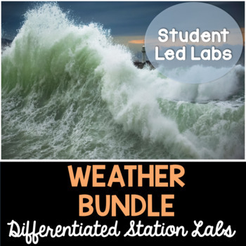 Weather - Differentiated Science Station Labs Bundle