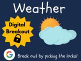 Weather - Digital Breakout! (Escape Room, Scavenger Hunt)