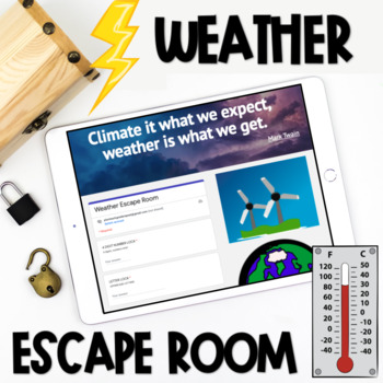Weather Digital Escape Room