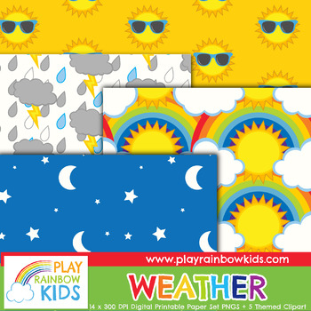 Weather Digital Paper
