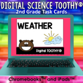 Weather Digital Science Toothy® Task Cards | Distance Lear