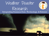 Weather Disaster Research Project