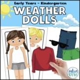 Weather Dolls | Dress for the Weather / Seasons | All About Me