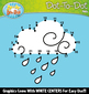 Weather Dot-To-Dot Clipart {Zip-A-Dee-Doo-Dah Designs}