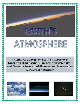 Weather:  Earth's Atmosphere Composition and Layers (GREAT INTRO TO WEATHER)