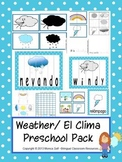 Weather/ El Clima Preschool Pack